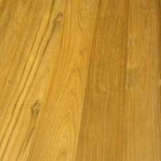Массивная доска Komofloor (Комофлор) Тик лак 600-1200x120x15 мм