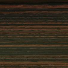 Плинтус шпонированный La San Marco Profili (Ла Сан Марко Профиль) Макасар 2500x80x16 мм