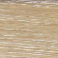 Плинтус шпонированный Tecnorivest (Техноривест) Дуб затертый белым 2500x80x16 мм