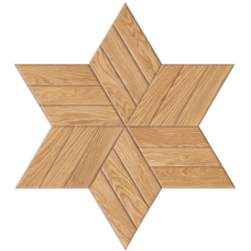 Шереметьевская звезда Stenwood Дуб вилла 3 планки